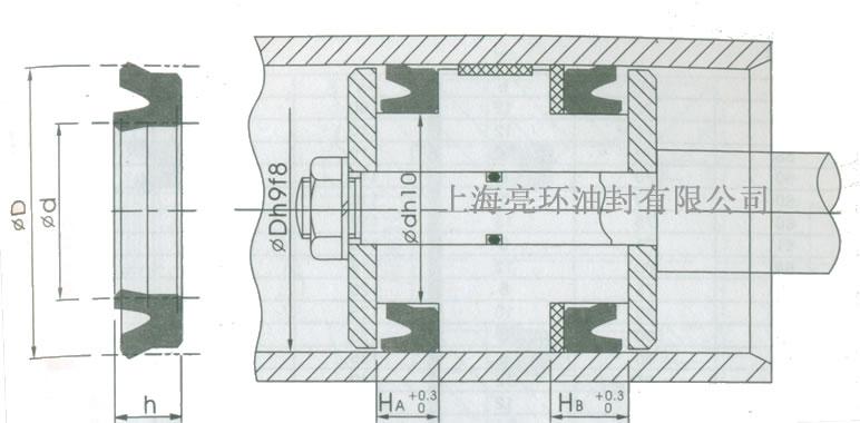 d-1密封剖面图图片